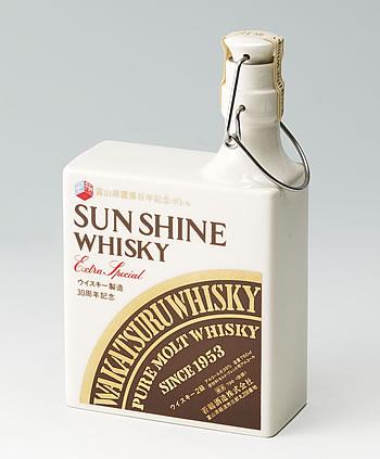 富山県置県百年記念ボトル ウィスキー製造30周年記念