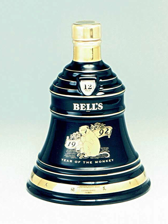 BELL'S 1992 YEAR OF THE MONKEY
