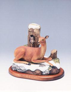 HANDCRAFTSERIES 手作り北の動物たち 「蝦夷の仲間たちボトル」